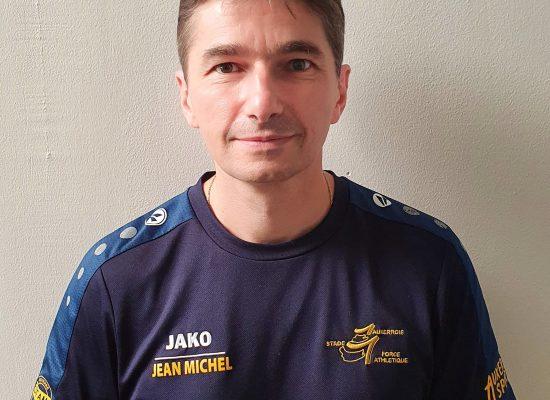 Jean-Michel Parrot, coach sportif